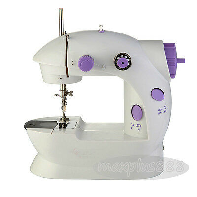 new 1PCS Mini Electric Sewing Machine Portable Multifunction Desktop