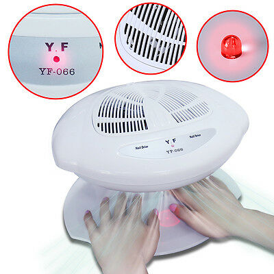 Elite99 Auto Inductions Nail Polish Dryer Fan For Hands & Feet Warm & Cool Wind