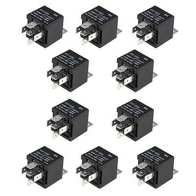 10 Pack 12V 5 Pin SPDT Relays Car Automotive Relay 30/40 AMP New