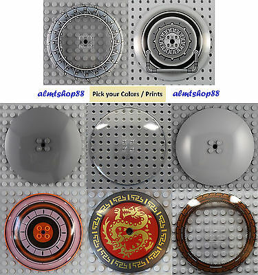 LEGO - 10x10 9x9 Dish - PICK YOUR COLORS - Plain Decorated 50990 Inverted Radar