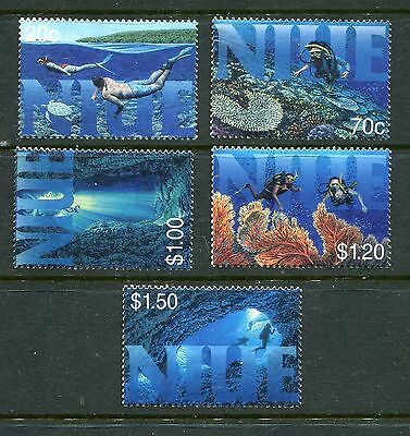 Niue 1998 Diving MNH