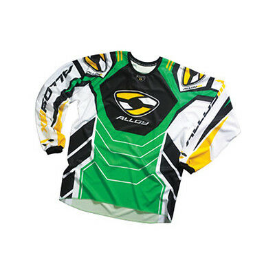 ALLOY 05 FUEL MOTOCROSS MX CYCLING JERSEY TOP ENDURO BIKE MTB GREEN new
