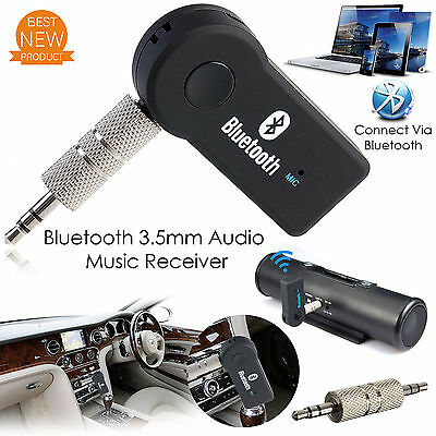 New 3.0 Wireless Bluetooth Music Receiver Adapter Audio Car Stereo Hands-Free UK
