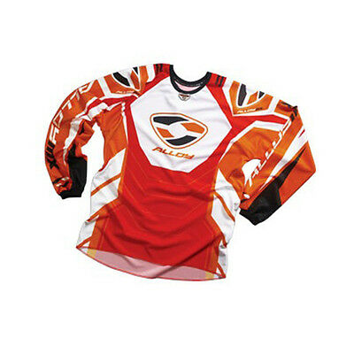 Alloy 05 Fuel Motocross Mx Cycling Jersey Top Enduro Bike Mtb Orange / Red