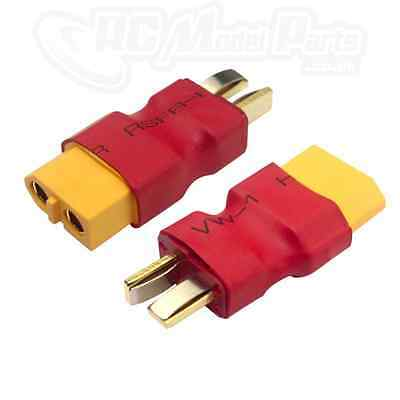 RC XT60 Female To Male Deans T Connector Adapter Car Plane Heli Lipo Battery ESC