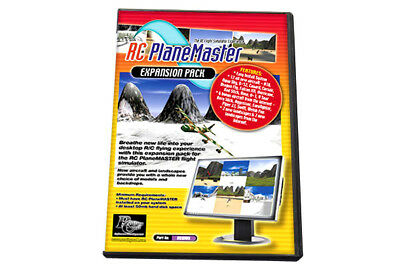 RC Plane Master Flight Simulator Expansion Pack for Planemaster ( CD Only )