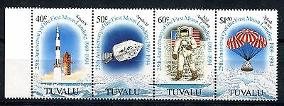Tuvalu 1994 25th Anniv of First Manned Moon Landing MNH