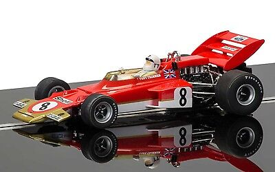 C3657A Scalextric Legends Team Lotus 72 - Tony Trimmer - Race Of Champions 1971
