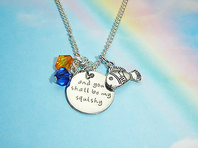 And You Shall Be My Squishy Charms Crystal Necklace Finding Nemo Dory Inspired
