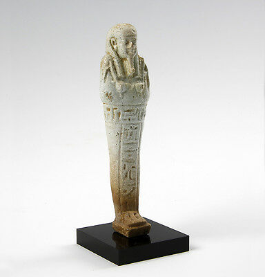 Egyptian shabti with provenance.