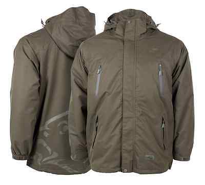 Nash Tackle NEW Carp Fishing Green Waterproof Jacket *All Sizes*