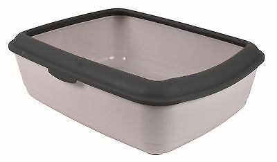 Classic Cat Litter Tray Gray