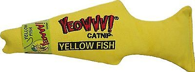 Yeowww Fish Cat Toy Yellow