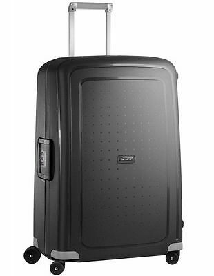 NEW Samsonite S'cure Spinnercase Large 75cm Black