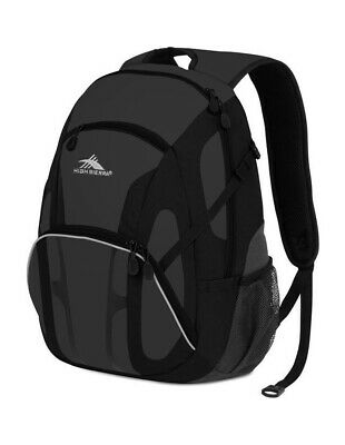 NEW High Sierra Composite Backpack in Charcoal / Black