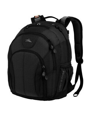 NEW High Sierra Academic Laptop Backpack Black