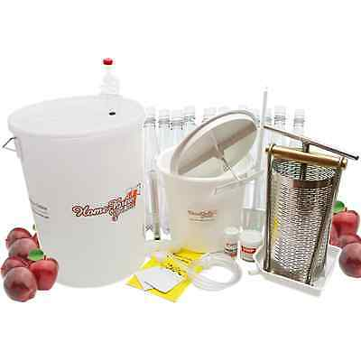Home Brew Complete Scrumpy Cider Making Equipment Starter Kit With Apple Press