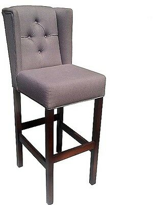 DINING CHAIR LANCASTER premium class upholstered hoker chair back ring quilted