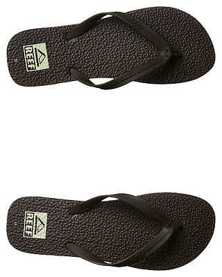 New Reef Men's Trinidad Thong Rubber Mens Shoes Brown