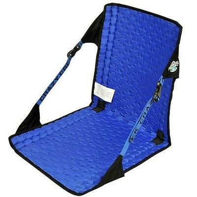 Crazy Creek Hex 2.0 Original Camping Chair - Black/Royal Blue - Brand NEW!