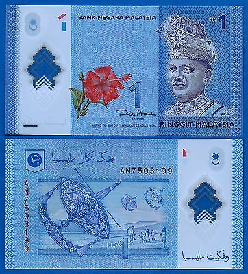 Malaysia P-New One Ringgit Year 2012 ND Uncirculated Banknote FREE SHIPPING