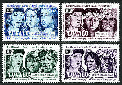 Tuvalu 1992 Discovery of America by Columbus MNH