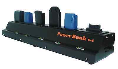 6 Bank Pro Charger(UL/CE)*Non batteries*For SYMBOL LS3578/DS3478 #21-62606-01...