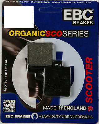 EBC SFA HH Sintered Scooter Front Brake Pads Single Set For Vespa SFA260HH