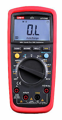 UNI-T UT139B True RMS NCV 4000 Counts DMM Digital Multimeters
