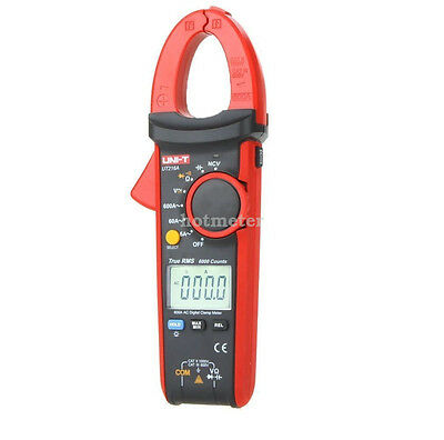 UNI-T UT216A Backlight Digital Clamp Meter Tester Auto Range AC DC Volt Current