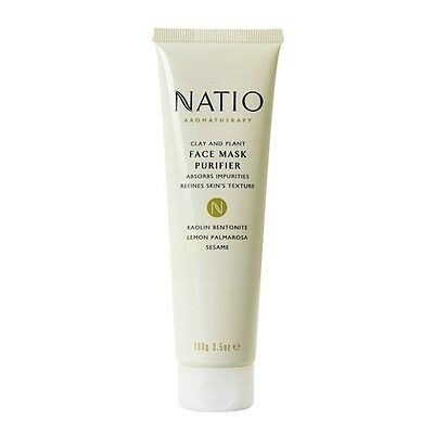 New 100g Natio Clay & Paint Face Purifier Mask Deep Cleansing Rejuvenating