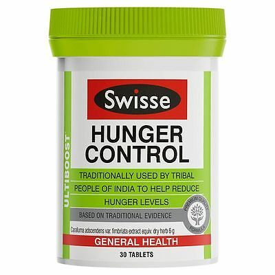 New 30 Tab Swisse Ultiboost Hunger Control Appetite Suppressant Healthy Tablets