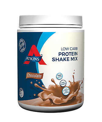 New 330g Atkins Shake Mix Chocolate Low Carb High Protein Diet Weight Loss Drink