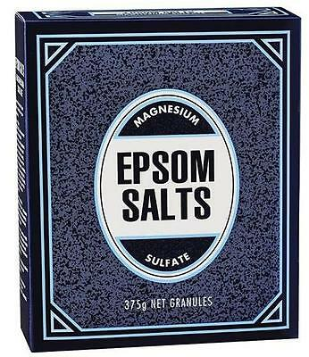375g Epsom Salts Muscular Aches Stiffness Joint Pain Reliever
