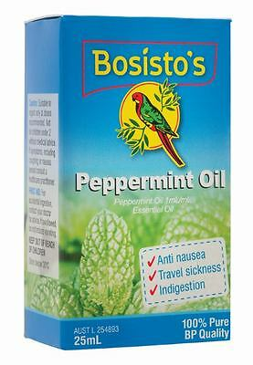 Bosisto's Peppermint Oil 25ml