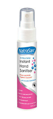 NatraSan Hand Sanitiser Spray Chamomile & Apple 28ml