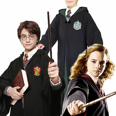 Cosplay Costume Mantello Mantella Uniforme Harry Potter Grifondoro Serpeverde