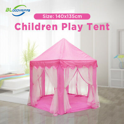 New Children Pop Up Play Tent Princess Playhouse Wigwam Party Gift Choice Girl