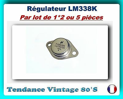 *** Lot Au Choix De 1*2 Ou 5 Regulateurs Ajustables 5A /  Lm338K ***