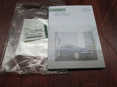 Jaguar  X - Type Owners Hand Book ( French ) Genuine
