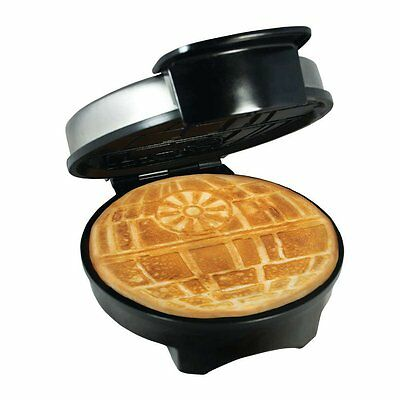 NEW Exclusive Star Wars Death Star Waffle Maker Officially Licensed Waffle Iron