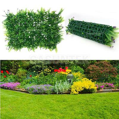 40*60cm Artificial Fake Lawn Green Grass Tussock for Garden Balcony Decors