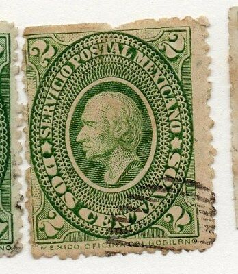 Mexico 1884 Early Issue Fine Used 2c. 076446