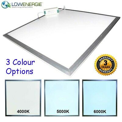 Lowenergie Large LED Panel Light ceiling recessed suspended modular lighting