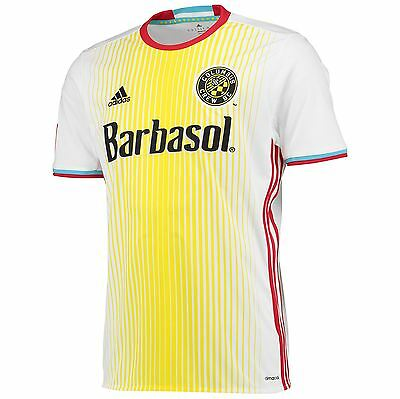 adidas Mens Gents Football Soccer Columbus Crew Away Shirt 2016 Jersey