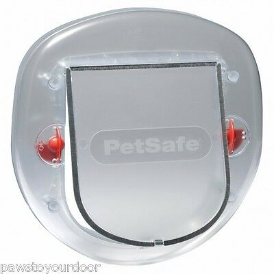 Staywell 270 Slim Profile Cat Door Frosted Cat Door Also Suitable For Small Dogs • EUR 19,01