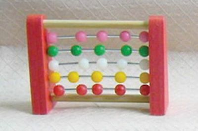 Dolls House Miniature 1/12th Scale Abacus Toy D2110