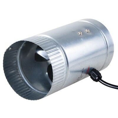 """4"""" Inline Duct Fan Booster Exhaust Blower Aluminum Blade Air Cooling Vent"""