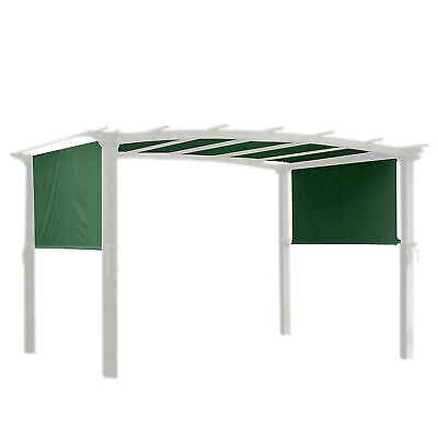 17x6.5' Patio Pergola Canopy Replacement Cover Outdoor Yard Green UV30+ 200g