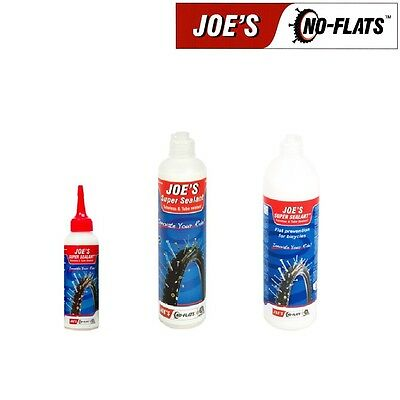 Joe's No Flats Self Sealing Mountain Bike Tubeless Tyre Inner Tube Super Sealant